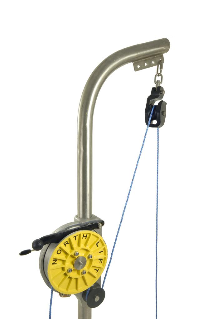 Hydraulic Line Puller : Carapax total supplier for creel fishing northlift