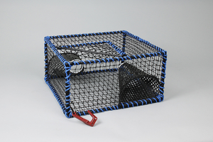 Prawn Creel, Square Model, Plastic Entrance