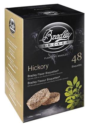Rökbriketter - Hickory- 48-pack