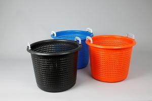 Plastic Basket, 44 Liter, Blue